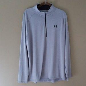 NWOT! UNDER ARMOUR Tech 1/2 Zip Long Sleeve Shirt